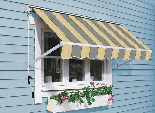 Mái che cửa sổ giúp che nắng mưa cho căn phòng